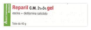 Reparil Gel 2%+5% - Confezione 40 Gr
