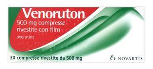 Venoruton - 500 Mg Confezione 30 Compresse