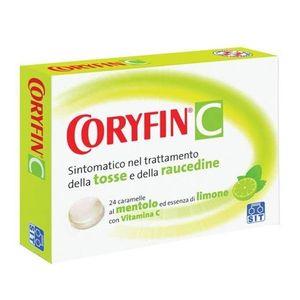 Coryfin C - Al Mentolo-Essenza di Limone Confezione 24 Caramelle