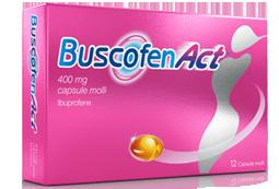 BuscofenAct - Confezione 12 Capsule Molli