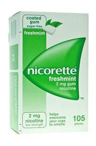 Nicorette -  Menta Forte 2 Mg Confezione 105 Gomme Masticabili