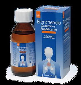 Bronchenolo - Sedativo Fluidificante Sciroppo Confezione 150 Ml