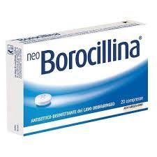 NeoBorocillina - Antisettico Confezione 20 Capsule
