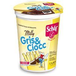 Schar - Milly  Gris & Ciocc Grissini Con Crema Da Spalmare Senza Glutine Confezione 52 Gr