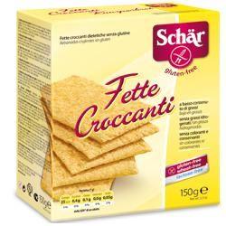 Schar - Fette Croccanti Senza Glutine Confezione 150 Gr