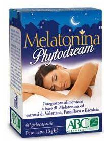 Melatonina Phytodream - Confezione 60 Capsule