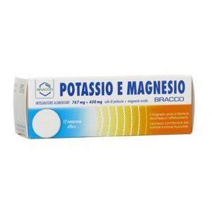Potassio e Magnesio - Confezione 12 Compresse Effervescenti