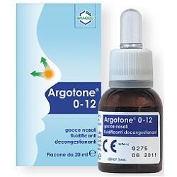 Argotone - Gocce Nasali Confezione 20 Ml (Scadenza Prodotto 28/11/2020)