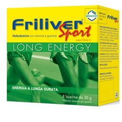 Friliver - Sport Long Energy Confezione 8 Bustine