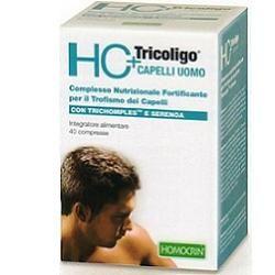 Specchiasol - Hc+ Tricoligo Uomo Confezione 40 Capsule