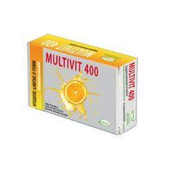 Wellvit - Multivit 400 Integratore Multivitaminico Confezione 30 compresse