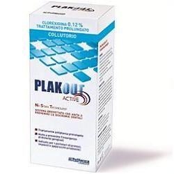 PlakOut - Collutorio Active Clorexidina 0.12% Confezione 200 Ml