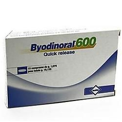 Byodinoral 600 - Confezione 15 Compresse