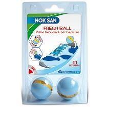 Nok San - Palline Deodorante Calzature Confezione 2 Pezzi