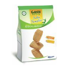 Giusto - Frollini Semplici Linea Equilibrio Senza Glutine Confezione 250 Gr