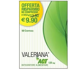 Valeriana Act - Confezione 60 Compresse
