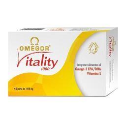 Omegor - Vitality 1000 Integratore Omega 3 Confezione 30 Perle