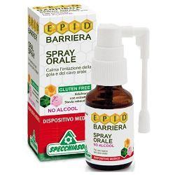 Specchiasol - Epid Barriera Spray Orale No Alcool Confezione 15 Ml