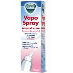 Vicks - Vapo Spray Acqua di mare Bebè e Bambini Confezione 100 Ml