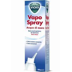 Vicks - Vapo Spray Acqua Di Mare Naso Chiuso Confezione 100 Ml
