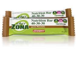 Enervit - Enerzona Nutrition Barretta 40-30-30 Nocciola e Cioccolato Al Latte Confezione 1 Pezzo