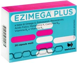 Ezimega Plus - Confezione 20 Capsule