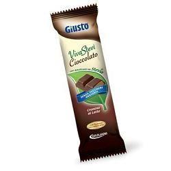Giusto - Cioccolato Cremoso Con Stevia Confezione 35 Gr