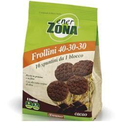 Enervit - Enerzona Frollini 40-30-30 Cacao Confezione 250 Gr