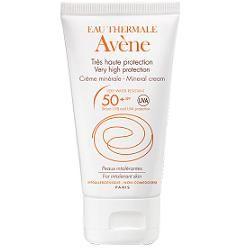 Avene - Crema Protezione 50+SPF Schermo Minerale Confezione 50 Ml