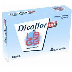 Dicoflor - 60 Confezione 15 Bustine