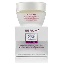 Boots - Serum 7 crema notte pelle normale  50 Ml + Discovery Kit in Omaggio