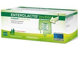Enterolactis - Bevibile 8 Miliardi Di Cellule Vive Confezione 12X10 Ml