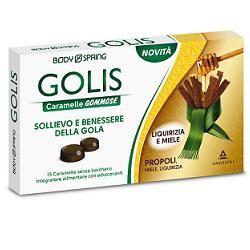 Body Spring - Golis Caramelle Liquirizia e Miele Confezione 15 Caramelle