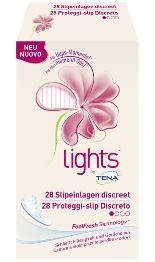 Tena - Lights Discreto Proteggi Slip Confezione 28 Pezzi