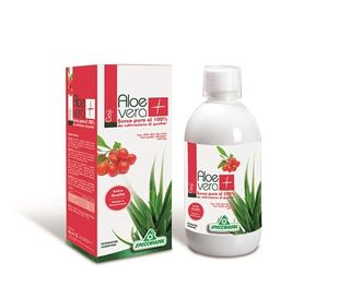 Specchiasol - Succo Aloe Vera+Goji Confezione 1 Litro