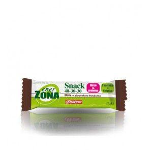Enervit - Enerzona Snack 40-30-30  Latte e Cioccolata Fondente Confezione 1 Pezzo