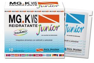 MG K Vis - Reidratante Junior Con Magnesio Potassio e Vitamine Del Gruppo B Confezione 10 Bustine
