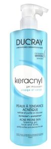 Ducray - Keracnly Gel Detergente Confezione 400 Ml