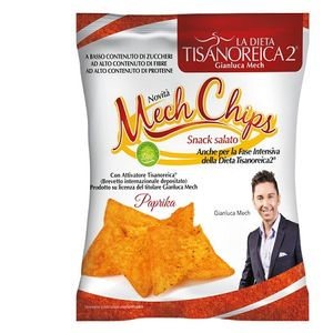 Tisanoreica - Mech Chips Gusto Paprika Confezione 25 Gr