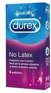 Durex - No Latex Confezione 6 Profilattici