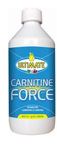 Ultimate Italia - Carnitine Force Limone Integratore Alimentare Confezione 500 Ml