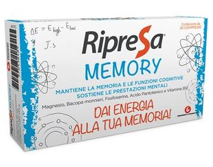 Ripresa Memory - Confezione 20 Compresse
