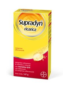 Supradyn - Ricarica Integratori Sali Minerali e Vitamine Confezione 30 Compresse
