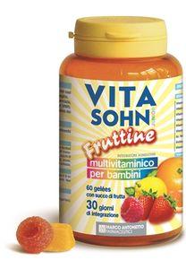 Vitasohn Junior Integratore Alimentare Multivitaminico 60 Caramelle Gelee