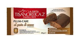 Tisanoreica - Plum-Cake Al Gusto Di Cacao Confezione 45 Gr