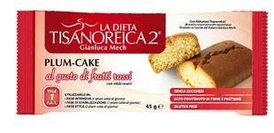 Tisanoreica - Plum-Cake al Gusto Di Frutti Rossi Confezione 45 Gr