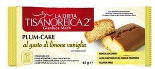 Tisanoreica - Plum-Cake Gusto di Limone e Vaniglia Confezione 45 Gr