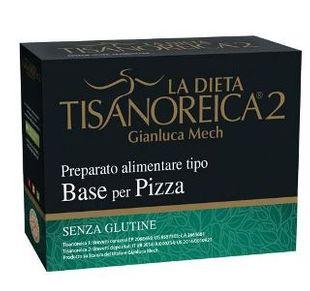 Tisanoreica - Preparato Alimentare Tipo Base Per Pizza 4 Preparati Confezione 4X31.5 Gr