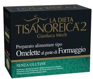 Tisanoreica - Omelette al gusto di Formaggio 4 Preparati Confezione 4X27.5 Gr