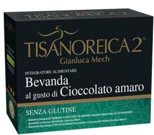 Tisanoreica - Bevanda Al Gusto Di Cioccolato Amaro 4 Preparati Confezione 4X34 Gr